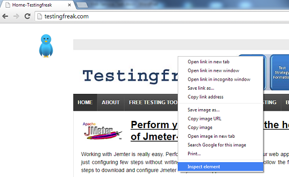 Test Page Speed - Testingfreak