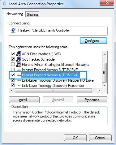 How to change or enable/disable IPv4 and IPv6 in computer