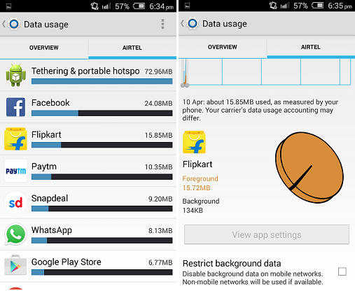 How to Disable Mobile Data for Particular App in Android